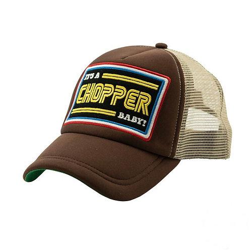Cap It's a Chopper | Brown