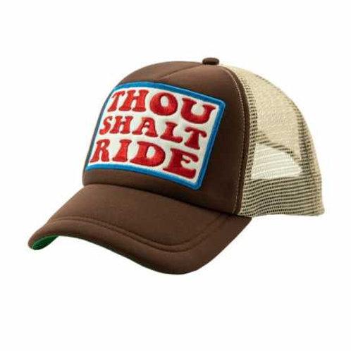 Cap Thou shalt ride | Brown