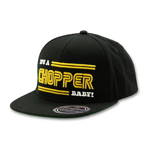Cap It's a Chopper | Black