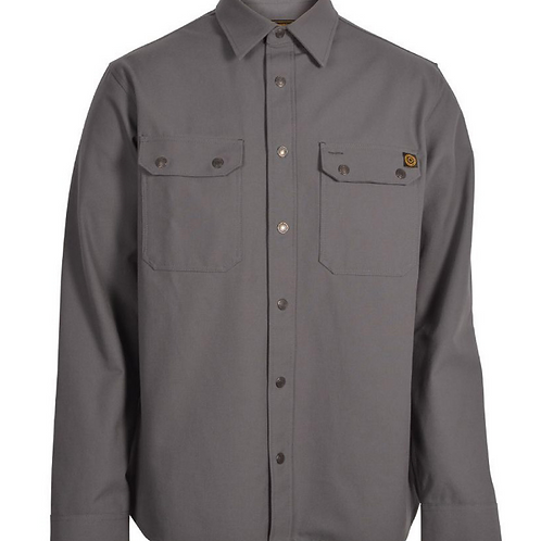 Wrenchmonkees Coated Shirt | Grey