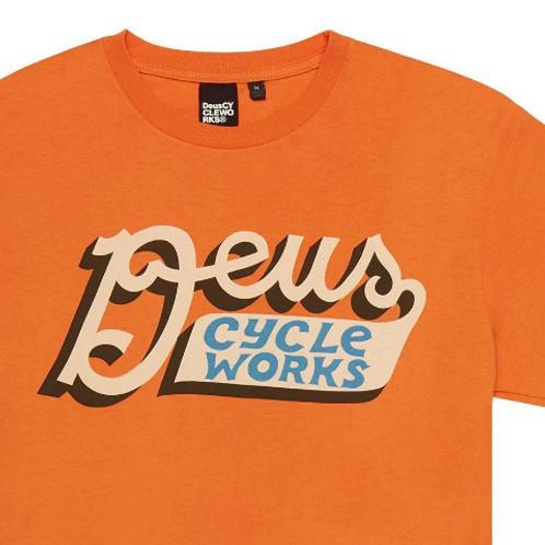 Deus Bilder T-Shirt Orange
