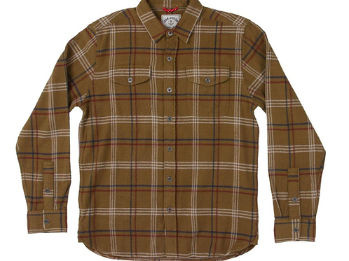 Iron & Resin Meridian Flanel Shirt