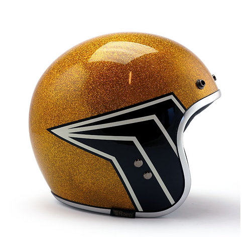 Roeg x 13 1/2 Jett Helmet - Gold Flake