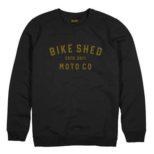 The Bike Shed -Company Sweater GOLD-