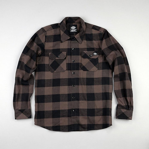 Dickies 'Sacramento' Shirt | Black-Grey