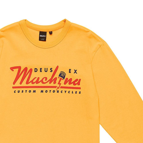 Deus Bolting Long Sleeve Mustard
