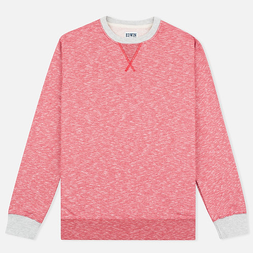 Edwin 'National' Sweater I Red