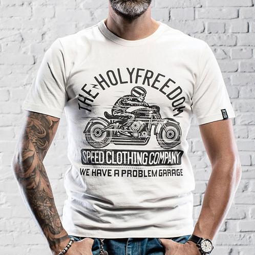 Holy Freedom 'Skeleton Rider' T-shirt