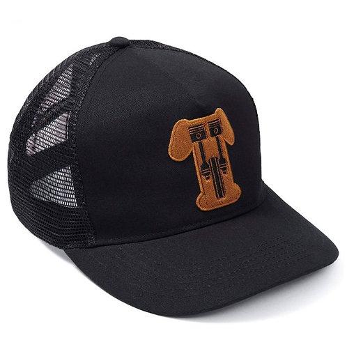 Triumph Kerosene Cap I Black - Gold