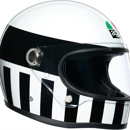 AGV X3000 Invictus | Black-White