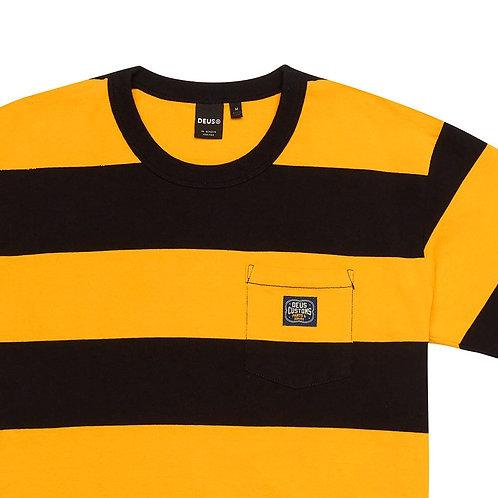 Deus Bonnieville Stripe T-Shirt