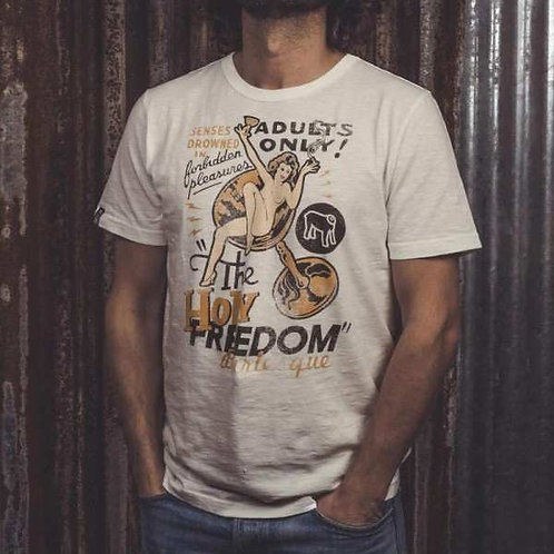 Holy Freedom Off White T-shirt