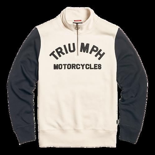 Triumph Ribble Sweater - Newbone/Black