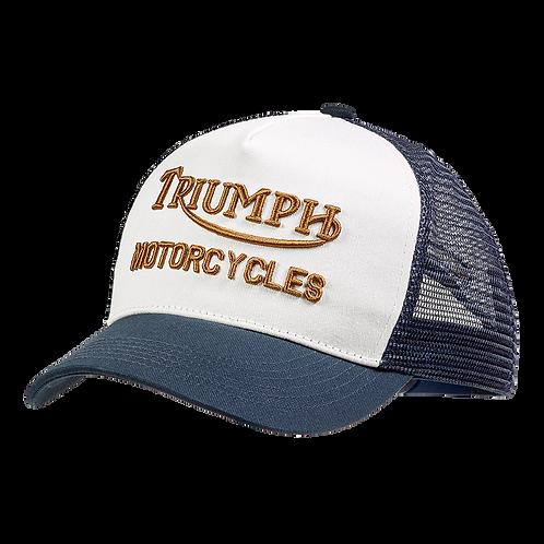 Triumph Oil Cap I Indigo-Bone