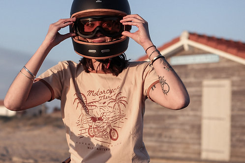 Wildust sisters T-shirt - Motorcycle Therapy