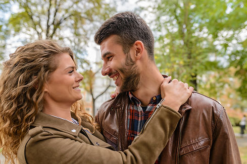 Canva - Photography of a Couple Smiling.