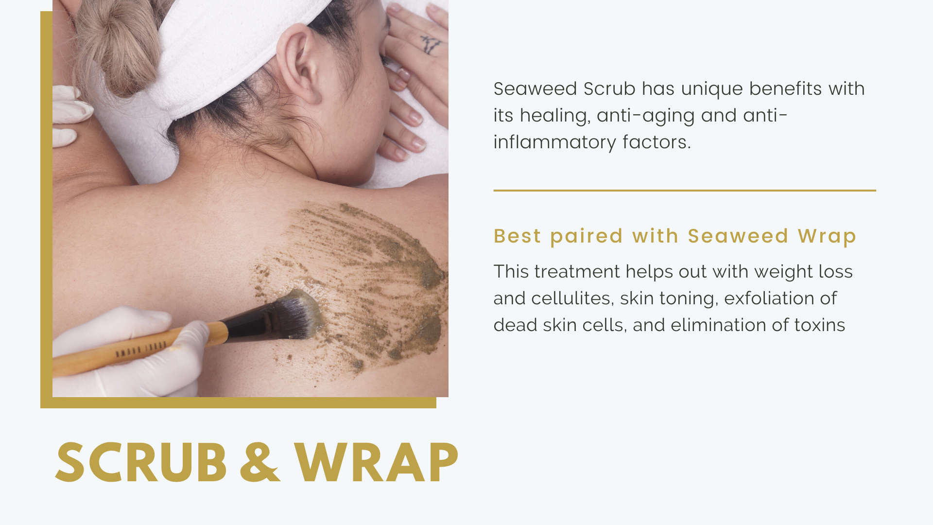 Seaweed Scrub & Wrap