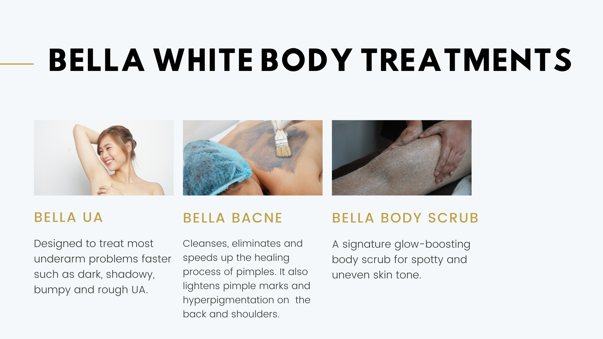 Bella White Body