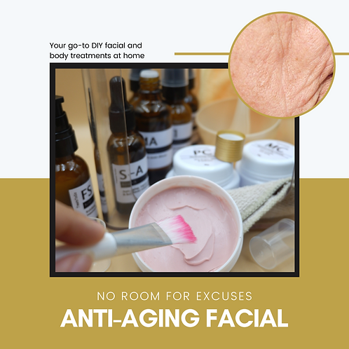 DIY 30 mL Anti-Aging Facial