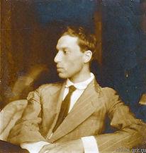 Портрет Бориса Пастернака на фоне Балтийского моря. Леонид Осипович Пастернак.