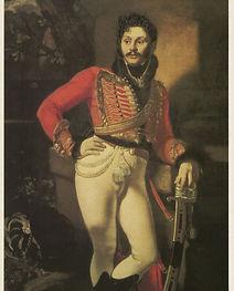 О.А.Кипренский. Портрет Е. В. Давыдова