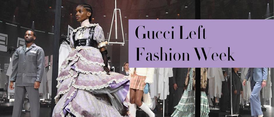 Gucci Rời Bỏ Fashion Week Và Tương Lai Của Các Tuần Lễ Thời Trang