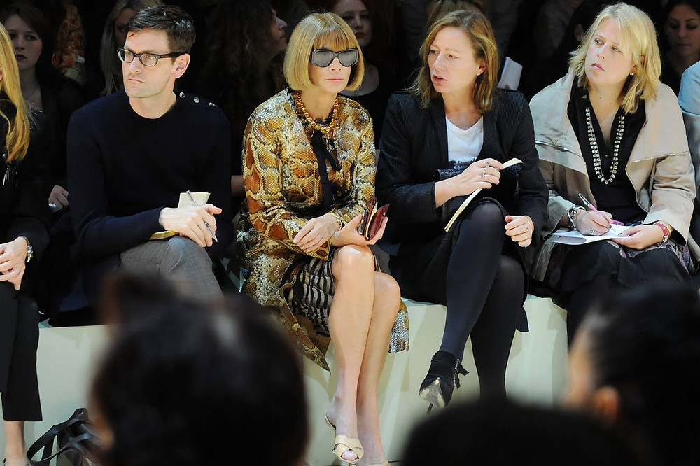 American-Vogue-Editor-in-chief - Anna Wintour jobs in fashion