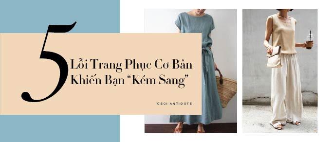 """5 Lỗi Trang Phục Cơ Bản Khiến Bạn """"Kém Sang"""""""