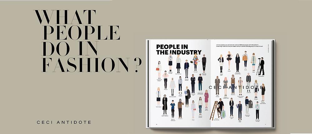 công việc thời trang fashion