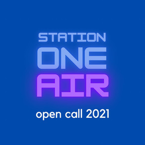 Extension of the application deadline to Station One AIR 2021 // MARCH 20, 2021