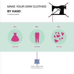 Μake your own clothes by hand