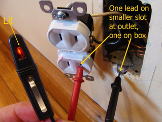 Converting Two-Prong Outlets