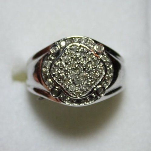 10K Gent's Diamond Ring
