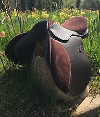 A Saddle custom made and won at the Master Saddles Saddlery Competition