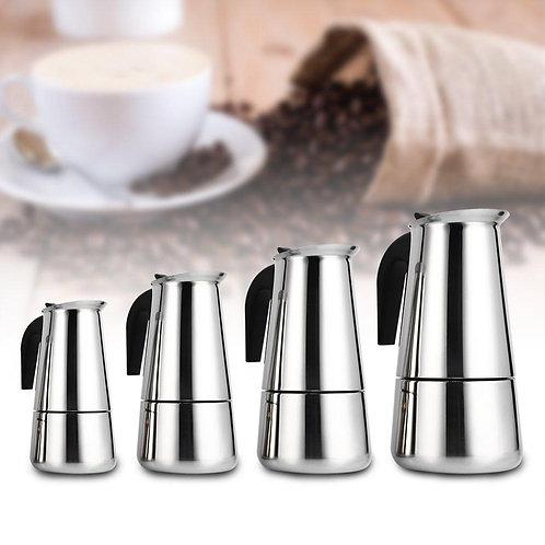 Stainless Steel Moka Pot Coffee Maker