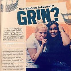 Vi er sgu også kommet i Folkeskolebladet