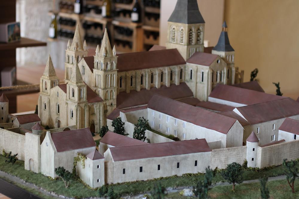 maqueta abadia de deols
