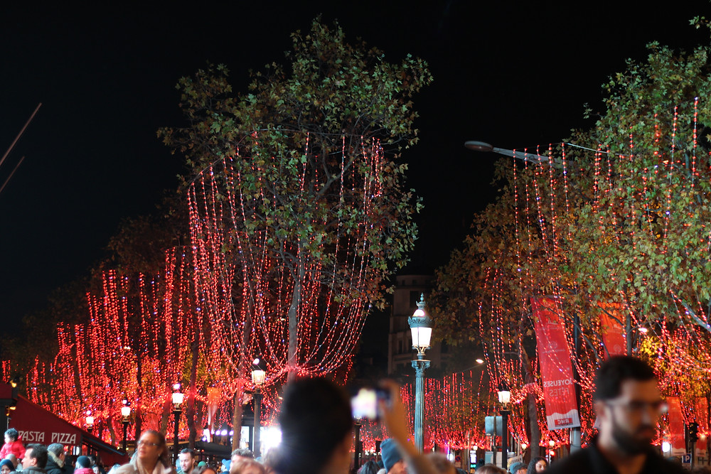 La avenida de los Campos Elíseos