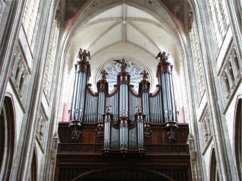 organo de la catedral de Orleans