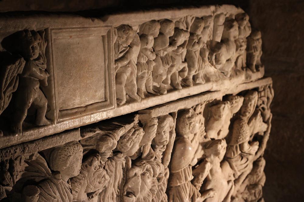 sarcofágo del siglo IV