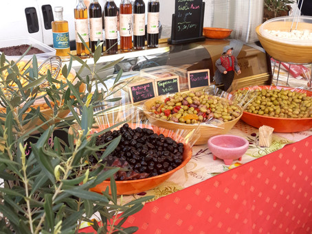 Visitando con Hijos Adolescentes el Mercado Provenzal de la Cadière d'Azur