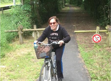Francia en Bicicleta: La Vía verde