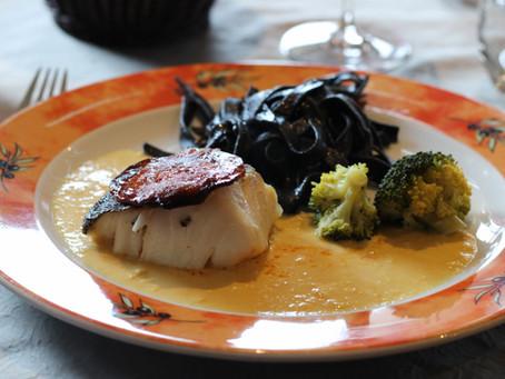 Comiendo en Saint Marcel: Restaurante Hotel Le Prieuré