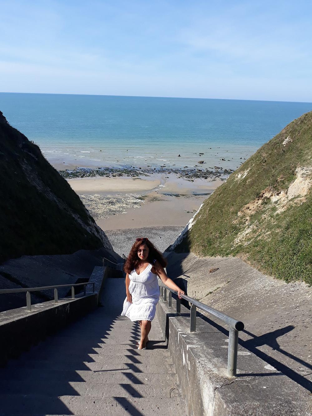La escalera de Sotteville sur Mer
