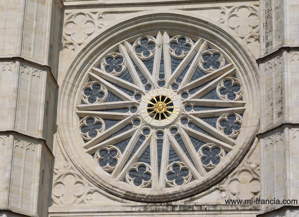 roseton catedral orleans