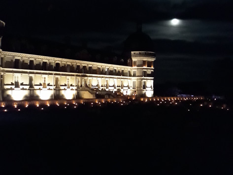 El Castillo de Valençay a la luz de las Velas