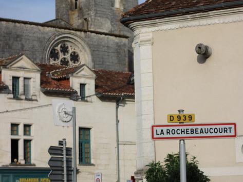 Visitando Dordoña:  LaRochebeaucourt-et- Argentine