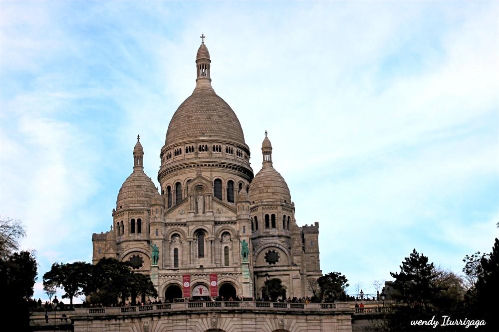 La basílica del Sagrado Corazón de Montmartre