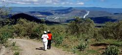 Enjoy the volcanic scenery