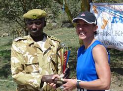 Kenya Wildlife Service..